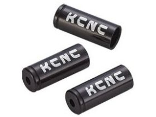 KCNC Ferrules/Cable Tips Set 4mm black
